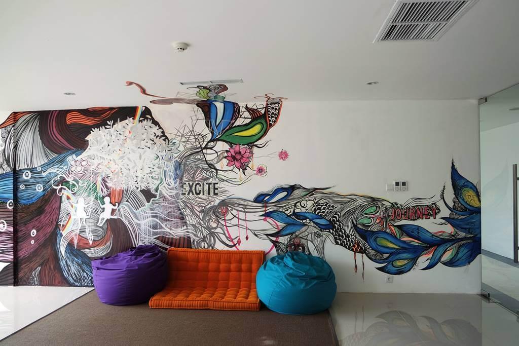 The Sintesa Jimbaran Mural