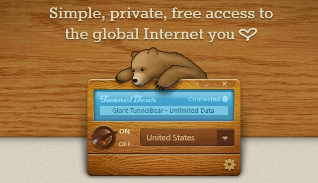 TunnelBear Free VPN