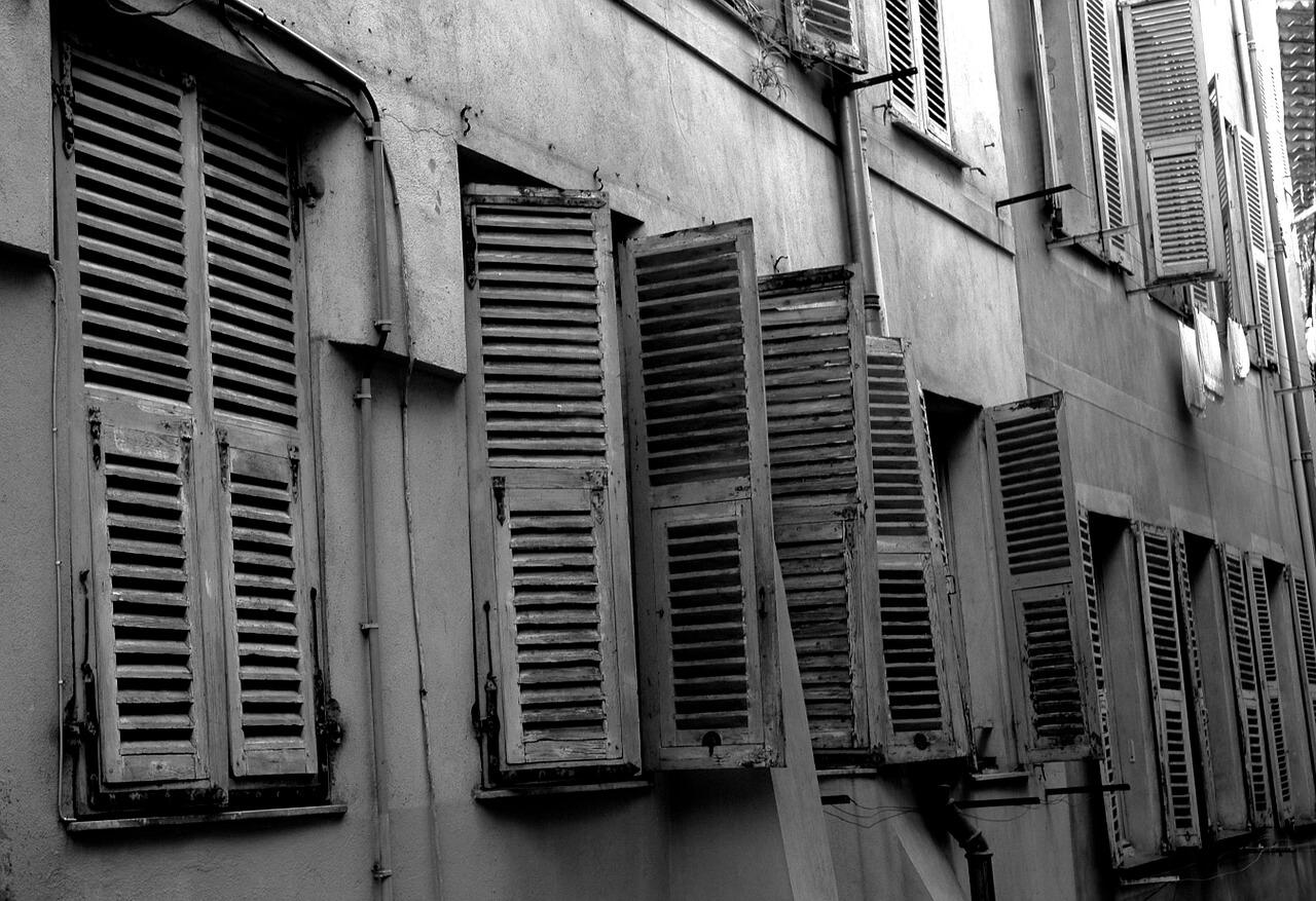 Jendela Bangunan Tua