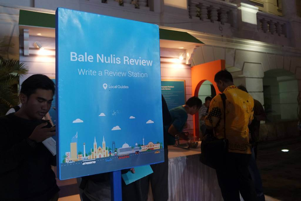Bale Nulis Review Google Local Guides Meetup Jakarta