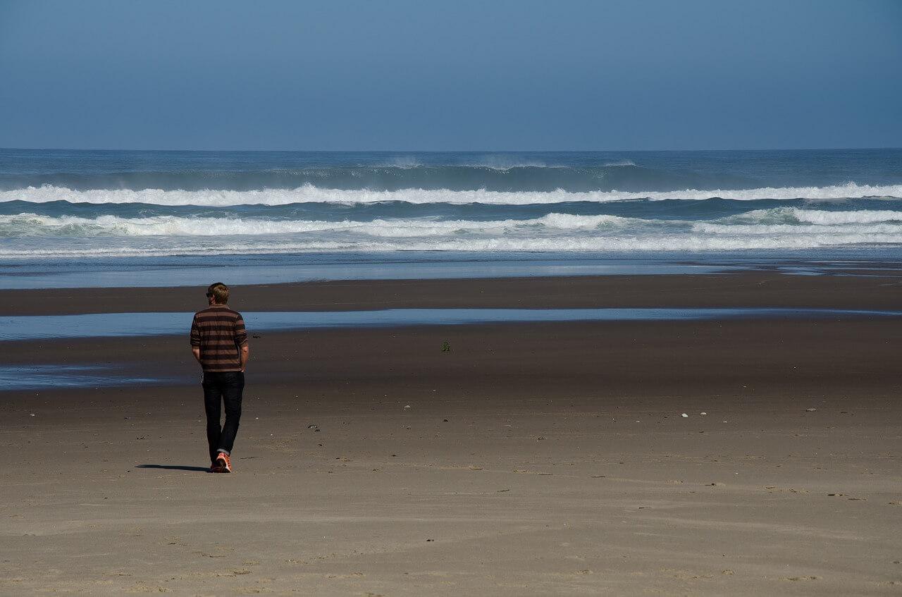 Perjalanan di Pantai