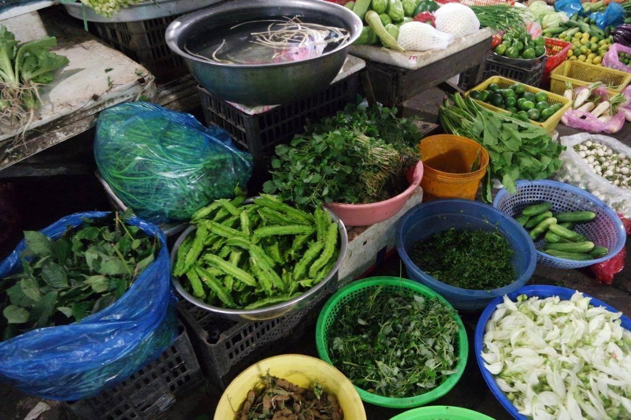 Sayuran serupa di Indonesia tapi tampak sedikit beda