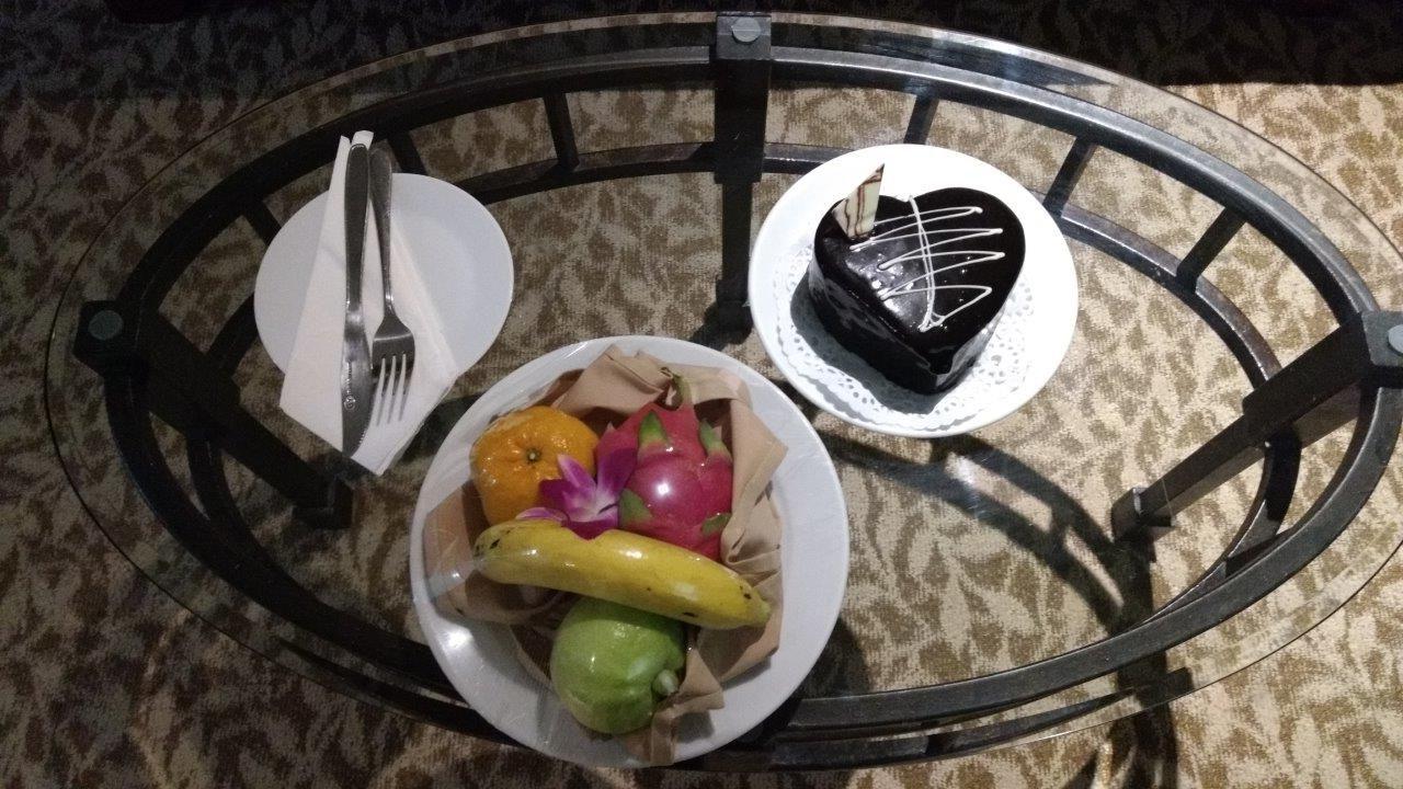 Baiyoke Sky Hotel Fruit Platter