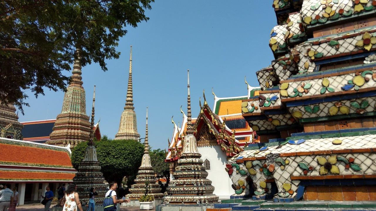 Kompleks Wat Pho Bangkok