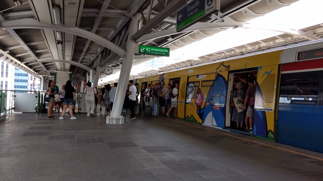 Nana BTS Station Bangko