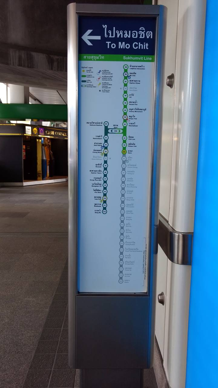 Nana BTS Station Bangkok